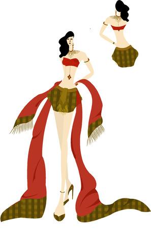 thai style: Thai dress style