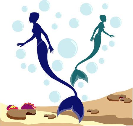 Mermaids Vector
