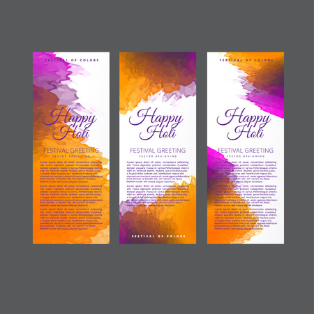 dhulandi: Happy Holi  festival of colors vector design , celebration concept design