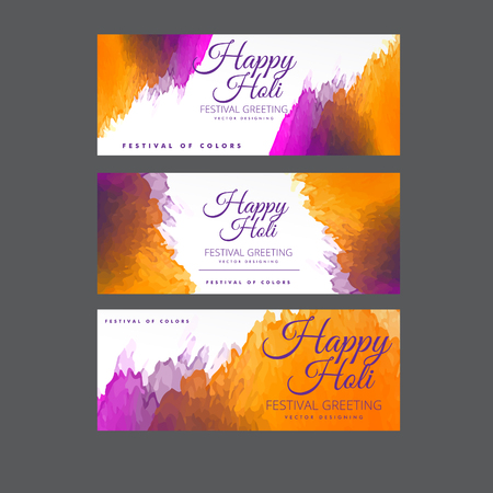 happy holi: Happy Holi  festival of colors vector design , celebration concept design