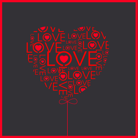 vector hearts: Vector - Vector hearts Illustration