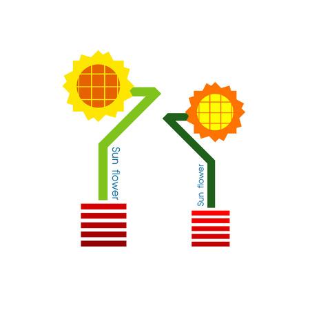 sun flower: sun flower  design