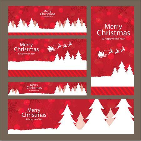 Buon Natale, disegno vettoriale e illustrazione