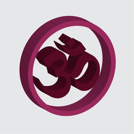 dao: Om Symbol (buddha) Illustration