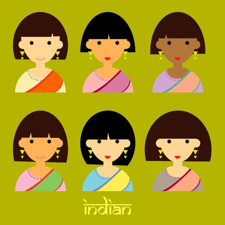 pakistani females: Beautiful India face girl
