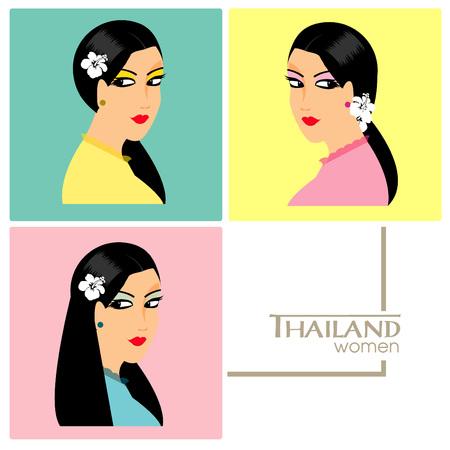 thai women: Beautiful Thai face women