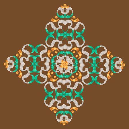Beautiful mandala  ornament design