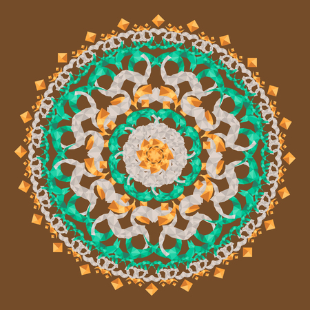 Beautiful mandala  ornament design
