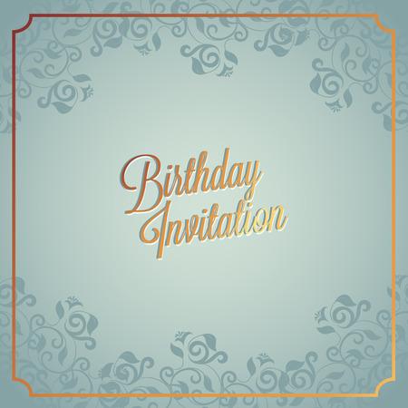 Tarjeta del feliz cumpleaños y el diseño de fondo