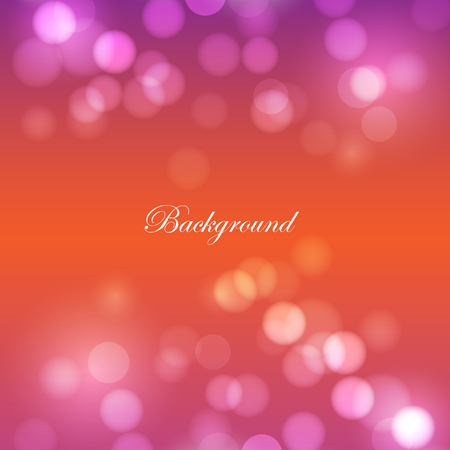 background with bokeh design