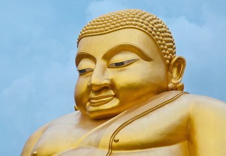 Good luck smiling Buddha, Chinese style photo