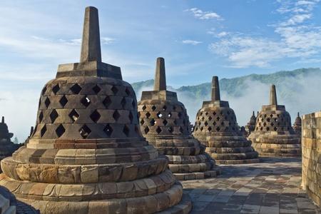 Borobudur Temple  Jogjakarta, Java, Indonesia Stock Photo - 13068586