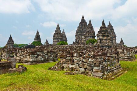 prambanan ruin, Yogyakarta, Java, Indonesia Stock Photo - 13068428