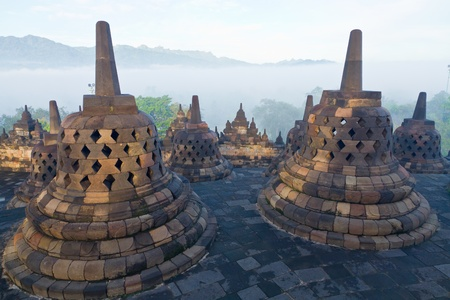Borobudur Temple  Yogyakarta, Java, Indonesia Stock Photo - 13066791