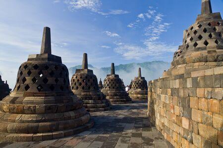Borobudur Temple  Yogyakarta, Java, Indonesia Stock Photo - 13068587