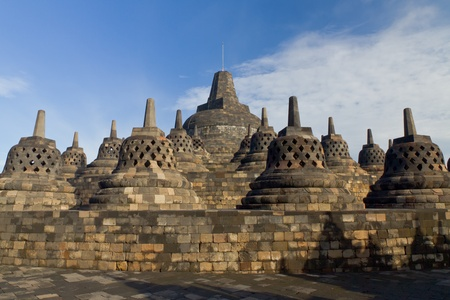 Borobudur Temple  Yogyakarta, Java, Indonesia   Stock Photo - 13068228