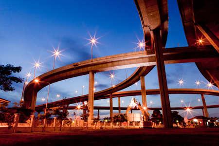 Mega bridge Thailand photo