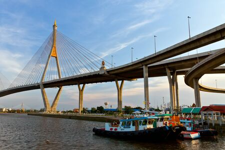 Mega bridge Thailand