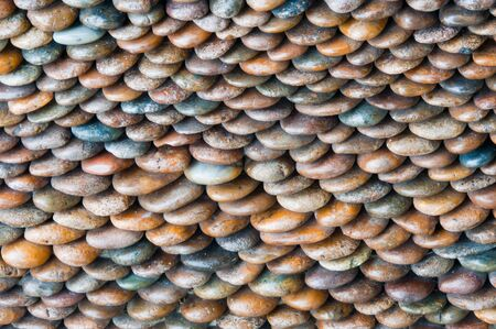 singly: colorful stones texture