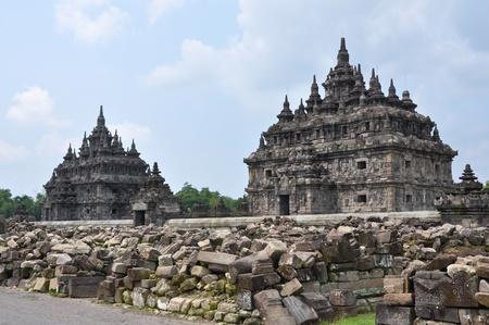 old buddhist temple, Jogjakarta, Indonesia Stock Photo - 13071467