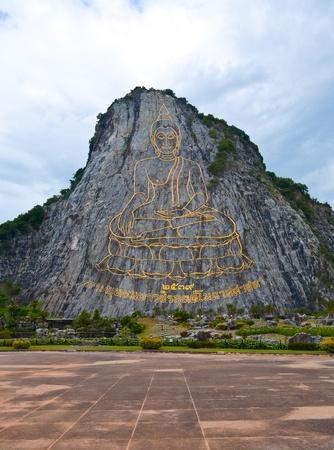 godhead: Buddha image on the mountain
