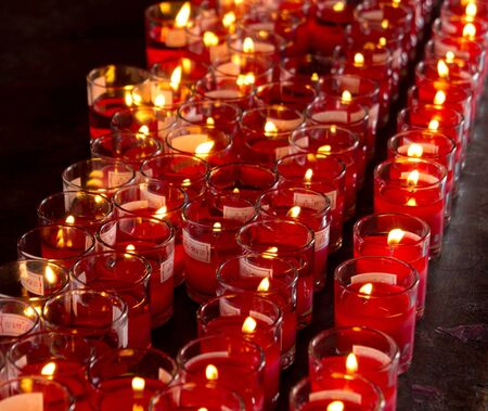 group of candle light Stock Photo - 13069092