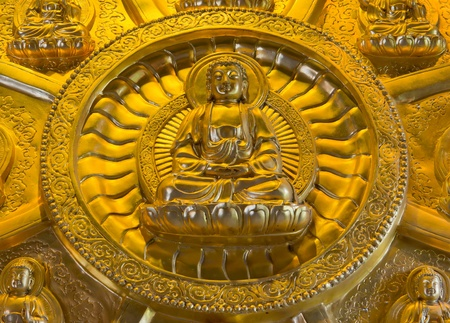 Golden Buddha, Chinese style Stock Photo - 13071357