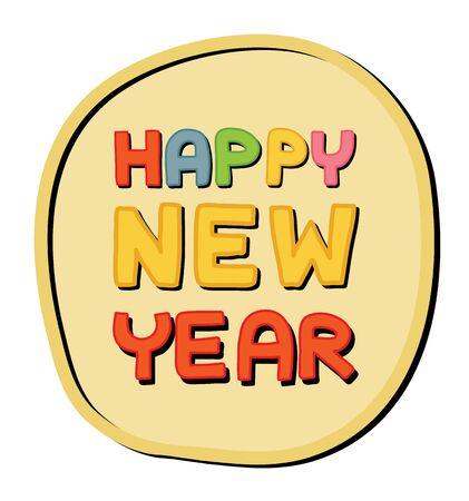 happy new year Stock Vector - 16945629