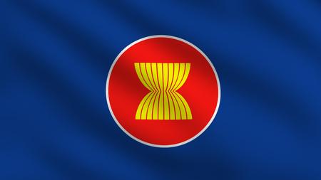 aec: Flag of Asean Economic Community (AEC)