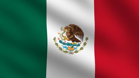 Flag of Mexico photo
