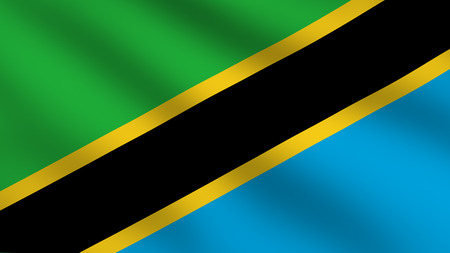 Flag of Tanzania photo