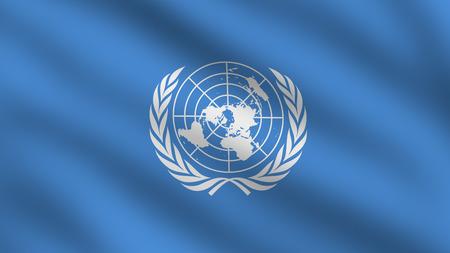 un: Flag of United Nations (UN)