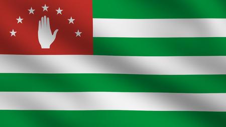 abkhazia: Flag of Abkhazia
