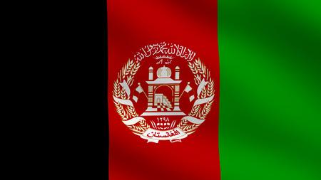 Flag of Afghanistan photo