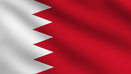 Flag of Bahrain photo