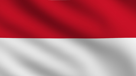 Flag of Indonesia photo