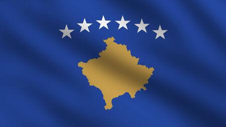 republika: Flag of Kosovo