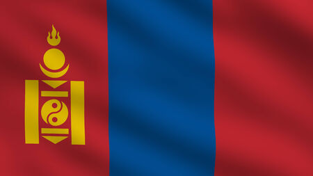 independent mongolia: Flag of Mongolia