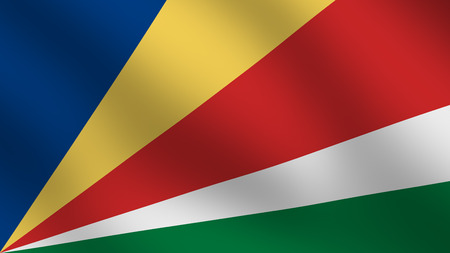 Flag of Seychelles photo