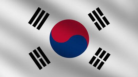korea flag: Flag of South Korea