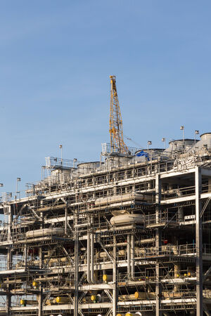 liquefied: Liquefied natural gas Refinery Factory with LNG storage tank using for Oil and gas industry