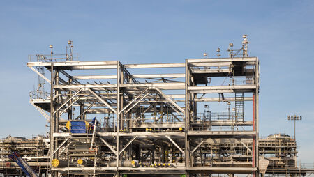 lng: Liquefied natural gas Refinery Factory with LNG storage tank using for Oil and gas industry