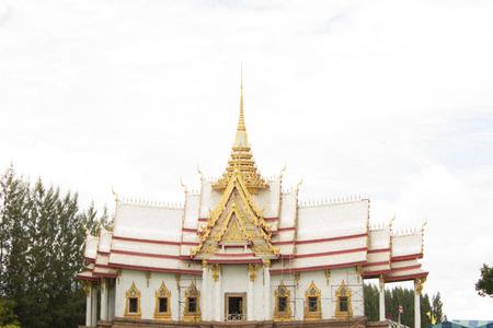 korat: white temple sungnoen korat