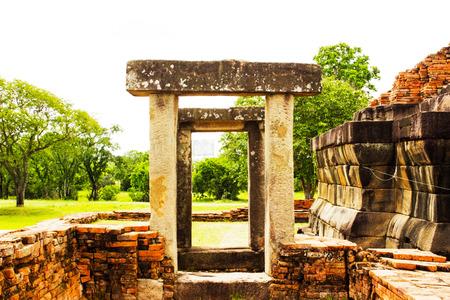 indian artifacts: Sema Ruins Thailand