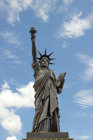 History of The Statue of Liberty Recycle steel nakornratchsima photo