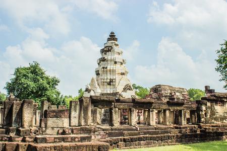 Prasat Hin Wat Phanom Wan Stock Photo