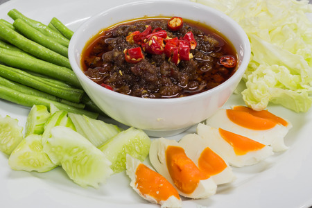 annonaceae: spicy meat and tomato dip spicy