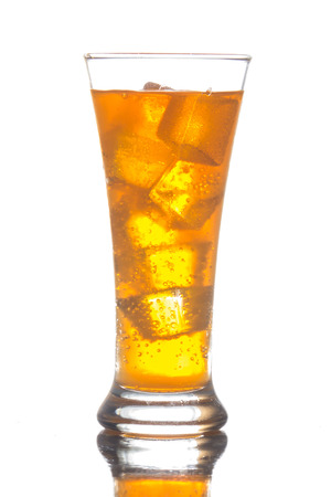 cooled: The sweet cooled drink with ice