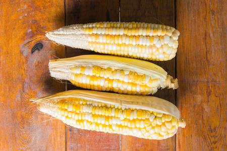 wheat kernel: dried corn on dried corn tree
