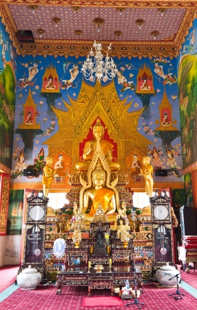 subject buddha at wat-nongree in thailand